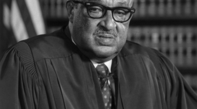 OA244: Clarence Thomas vs. Thurgood Marshall