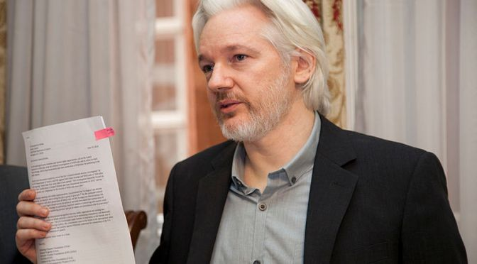 OA269: Julian Assange  Arrested