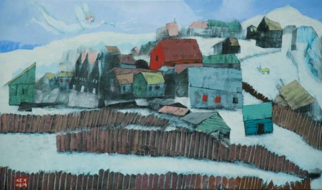 χωριό του Chagall 42X70