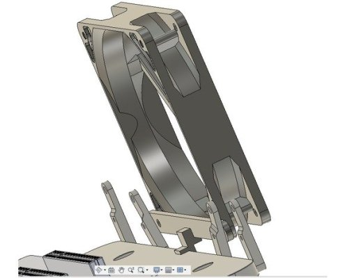 120mm fan bracket open benchtable