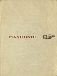 Manifesto, 1963