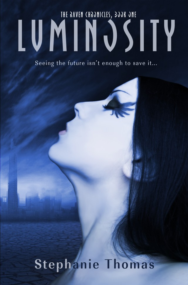 LUMINOSITY BY STEPHANIE THOMAS COVER REVEAL