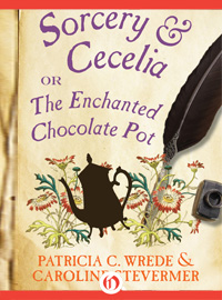 PATRICIA WREDE & CAROLINE STEVERMER: ENCHANTED CHOCOLATE POT BLOG FEST