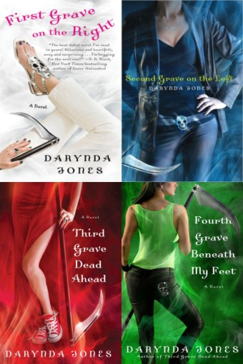 THE GRIM REAPER'S COLLECTION OF SAYINGS (CHARLEY DAVIDSON SERIES BOOKS 1-4 BY DARYNDA JONES): TOP 20