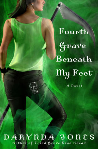 FOURTH GRAVE BENEATH MY FEET (CHARLEY DAVIDSON, BOOK #4) BY DARYNDA JONES: BOOK REVIEW