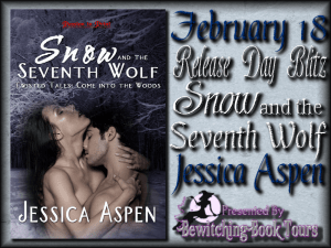 JESSICA ASPEN'S SNOW AND THE SEVENTH WOLF BLOG TOUR