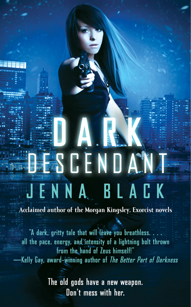DARK DESCENDANT (NIKKI GLASS, BOOK #1) BY JENNA BLACK: BOOK REVIEW