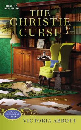THE CHRISTIE CURSE (BOOK COLLECTOR MYSTERIES, BOOK #1) BY VICTORIA ABBOTT: BOOK REVIEW