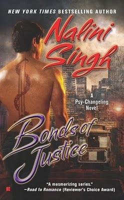 BONDS OF JUSTICE (PSY-CHANGELING, BOOK #8) BY NALINI SINGH: BOOK REVIEW