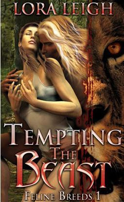 TEMPTING THE BEAST (BREEDS, BOOK #1) BY LORA LEIGH: BOOK REVIEW