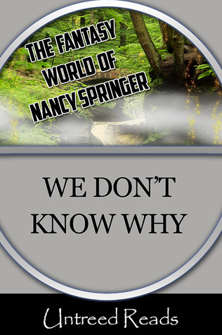 WE DON'T KNOW WHY BY NANCY SPRINGER: EBOOK GIVEAWAY