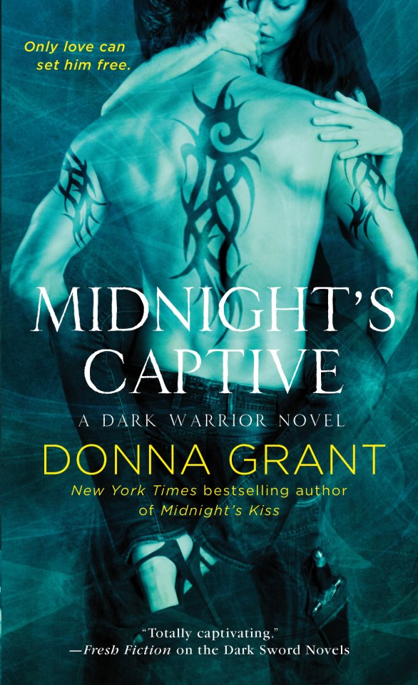 MIDNIGHT'S CAPTIVE (DARK WARRIORS, BOOK #6) BY DONNA GRANT: BOOK REVIEW