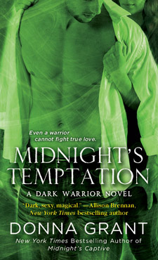 MIDNIGHT'S TEMPTATION (DARK WARRIORS, BOOK #7) BY DONNA GRANT: BOOK REVIEW