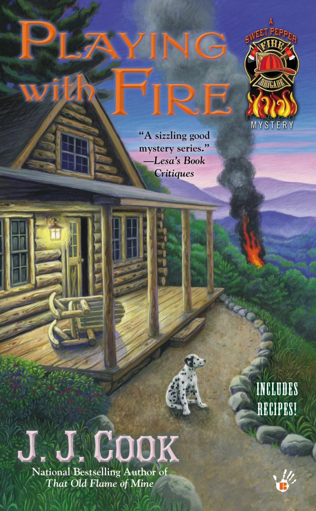 PLAYING WITH FIRE (SWEET PEPPER FIRE BRIGADE MYSTERY, BOOK #2) BY J.J. COOK: BOOK REVIEW