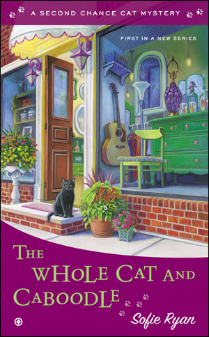 THE WHOLE CAT AND CABOODLE (SECOND CHANCE CAT MYSTERY, BOOK #1) BY SOFIE RYAN: BOOK REVIEW