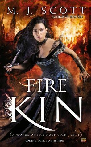 FIRE KIN (THE HALF-LIGHT CITY, BOOK #4) BY M.J. SCOTT: BOOK REVIEW