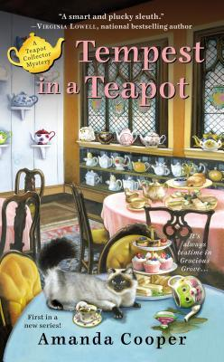 TEMPEST IN A TEAPOT (TEAPOT COLLECTOR MYSTERY, BOOK #1) BY AMANDA COOPER: BOOK REVIEW