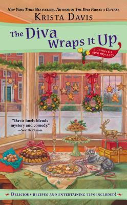 THE DIVA WRAPS IT UP (DOMESTIC DIVA MYSTERY, BOOK #8) BY KRISTA DAVIS: BOOK REVIEW
