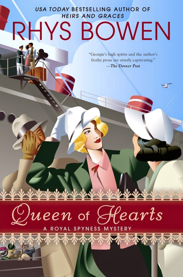 QUEEN OF HEARTS (HER ROYAL SPYNESS MYSTERIES, BOOK #8) BY RHYS BOWEN: BOOK REVIEW