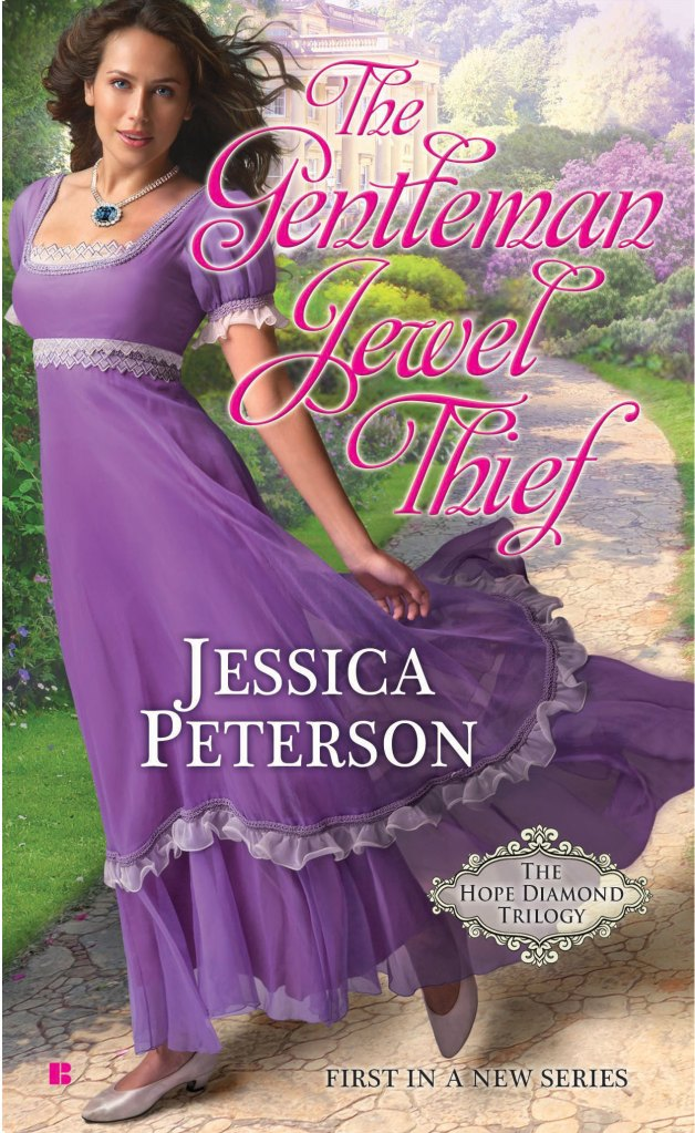 THE GENTLEMAN JEWEL THIEF (THE HOPE DIAMOND TRILOGY, BOOK #1) BY JESSICA PETERSON: BOOK REVIEW