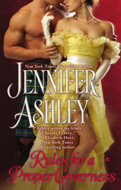RULES FOR A PROPER GOVERNESS (MACKENZIES AND MCBRIDES, BOOK #7) BY JENNIFER ASHLEY: BOOK REVIEW