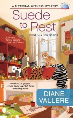 SUEDE TO REST (MATERIAL WINTESS, BOOK #1) BY DIANE VALLERE: BOOK REVIEW