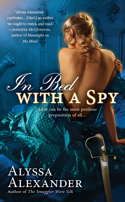 IN BED WITH A SPY (SPY IN THE TON, BOOK #2) BY ALYSSA ALEXANDER: BOOK REVIEW