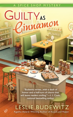 GUILTY AS CINNAMON (A SPICE SHOP MYSTERY #2) BY LESLIE BUDEWITZ: BOOK REVIEW