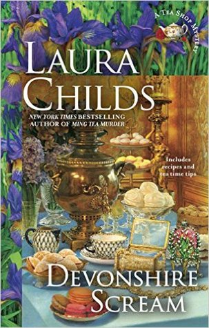 DEVONSHIRE SCREAM (A TEA SHOP MYSTERY, BOOK #17) BY LAURA CHILDS: BOOK REVIEW