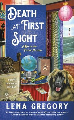 DEATH AT FIRST SIGHT (A BAY ISLAND PSYCHIC MYSTERY, BOOK #1) BY LENA GREGORY: BOOK REVIEW