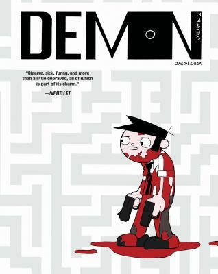 DEMON, VOLUME 2 (DEMON SERIES, #2) BY JASON SHIGA: BOOK REVIEW