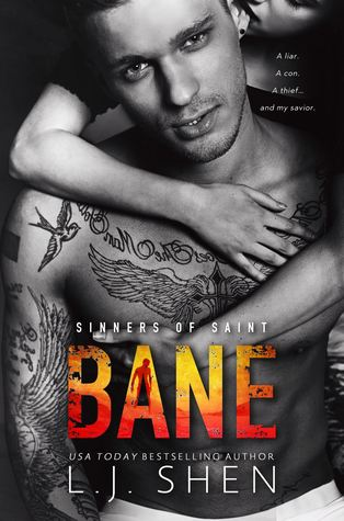 BANE (SINNERS OF SAINT, BOOK #4) BY LJ SHEN: BLOG TOUR