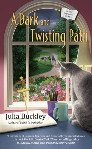 A DARK AND TWISTING PATH (A WRITER'S APPRENTICE MYSTERY, BOOK #3) BY JULIA BUCKLEY: BOOK REVIEW