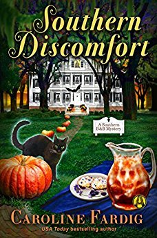 SOUTHERN DISCOMFORT (A SOUTHERN B&B MYSTERY #1) BY CAROLINE FARDIG: BOOK REVIEW