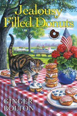 JEALOUSY FILLED DONUTS (DEPUTY DONUT MYSTERY #3) BY GINGER BOLTON: BOOK REVIEW