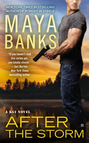 AFTER THE STORM (KGI, BOOK #8) BY MAYA BANKS: BOOK REVIEW