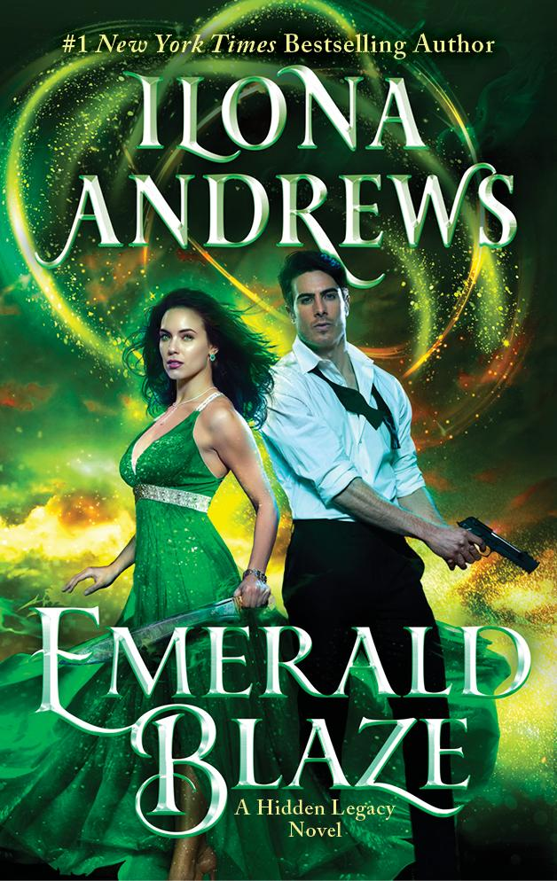 EMERALD BLAZE (HIDDEN LEGACY, BOOK #4) BY ILONA ANDREWS: BOOK REVIEW