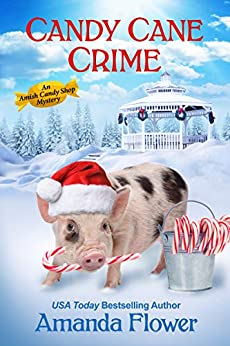 CANDY CANE CRIME (AMISH CANDY SHOP MYSTERY, #5.5) BY AMANDA FLOWER: BOOK REVIEW