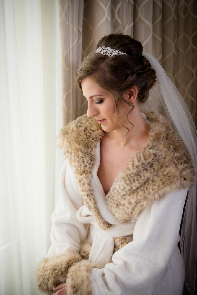 Bride preparing for her big day