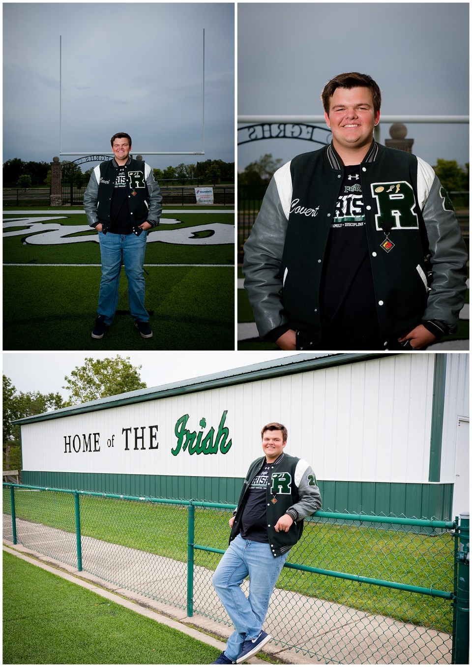 Father Gabriel Richard High School Senior Portraits