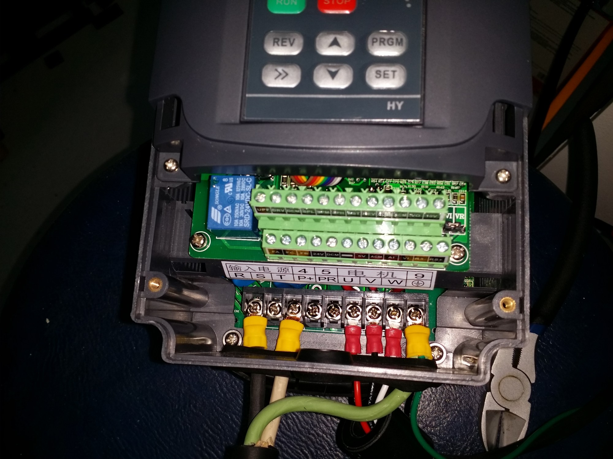 hight resolution of chinese 2 2kw vfd wiring openbuilds