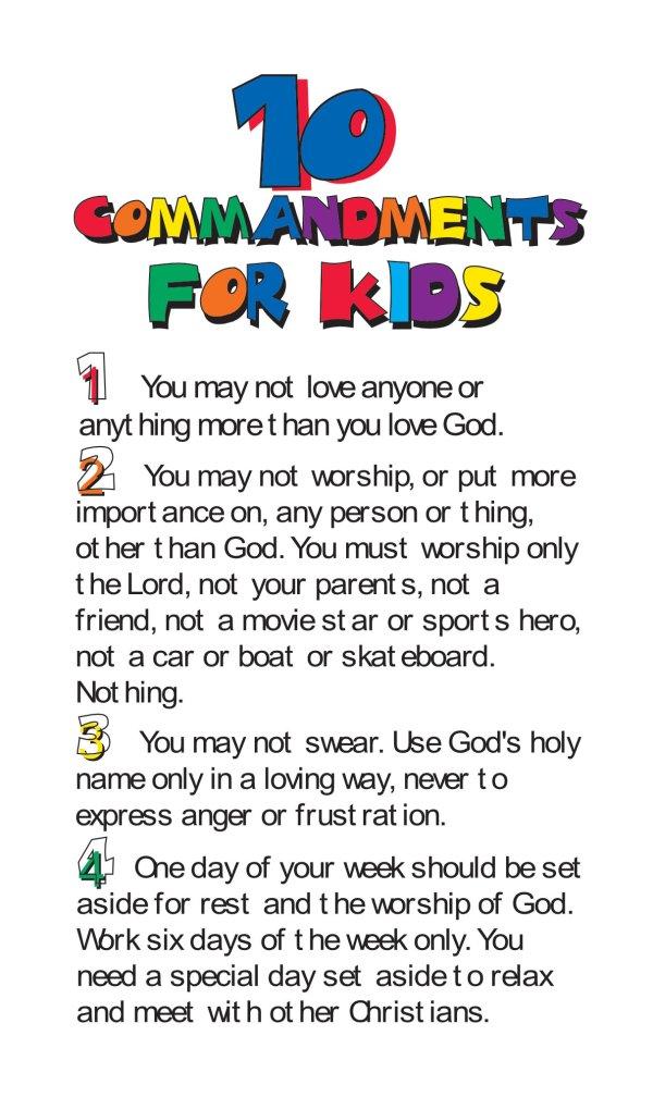 10 commandments # 23