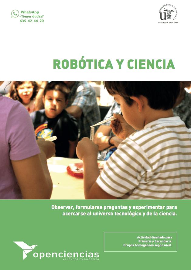 Robotica y ciencia
