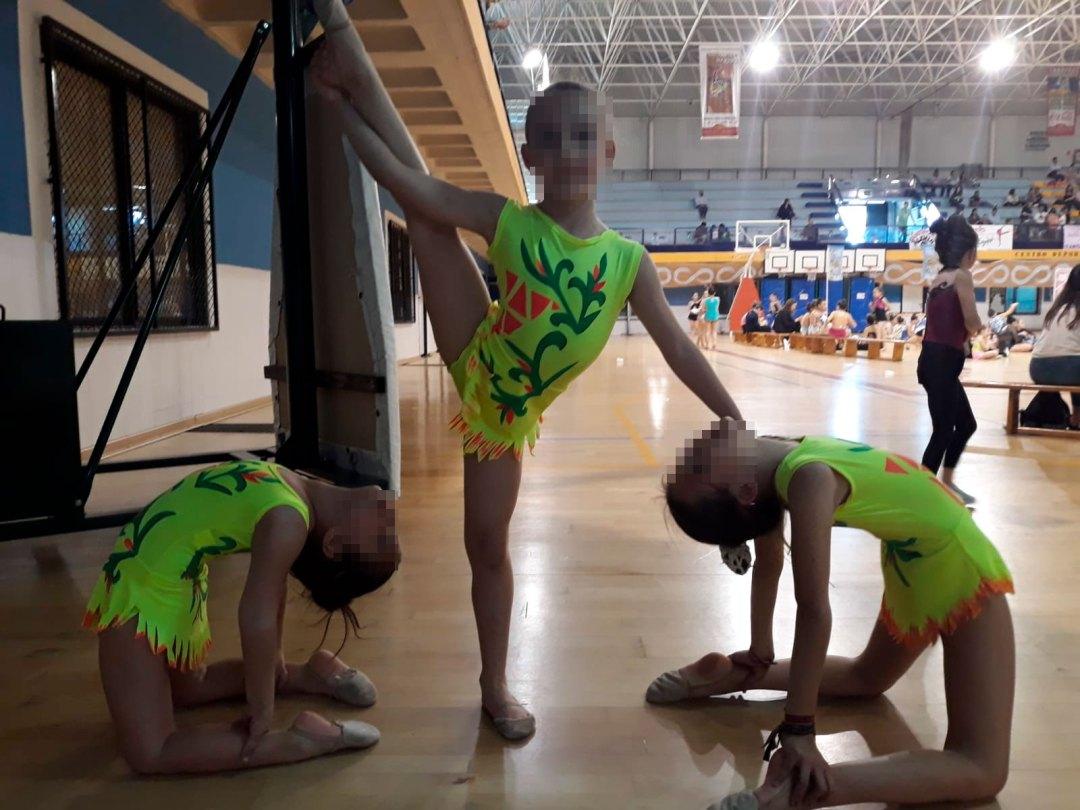 II jornada gimnasia rítmica