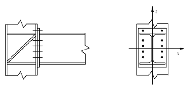 Behavior of Steel Welded Tapered Beam-column