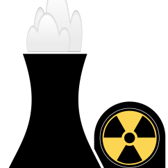 Shrub Graphic Symbols Diagram 1995 Isuzu Rodeo Clipart Nuclear Plant Black