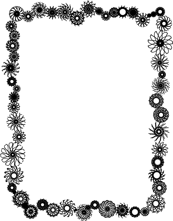 Picture Frame Borders Free Clip Art