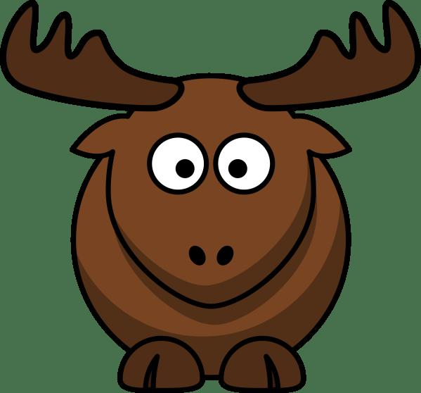 Elk Cartoon Clip Art
