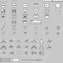 Domestic Electrical Wiring Diagram Symbols Gmc Trailer Plug Clipart Electric Rgie Arei