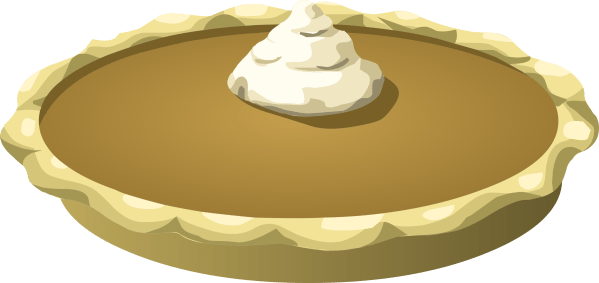 clipart - food pumpkin pie